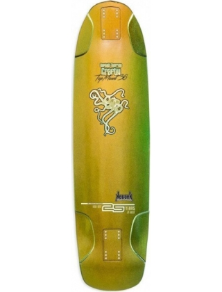 "KEBBEK CRAFTY 36"" OPALESCENCE SERIE RAPHAEL THERRIEN - LONGBOARD DECK"