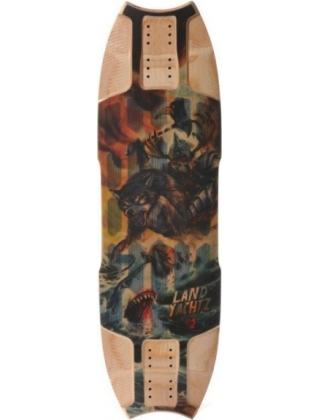 "Landyachtz Wolfshark ""Sea Battle"" - Deck Only"