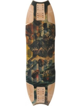 "Landyachtz Wolfshark Mini ""Sea Battle"" - Deck Only"