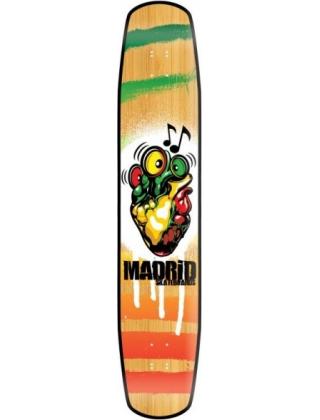 "Madrid Flash 44"" Reggae Rocker Bamboo - Deck Only"