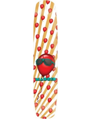 "Madrid Flash 46"" 99 Red Ballons Bamboo - Deck Only"