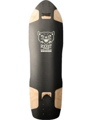 Rocket Longboards Do mini nation Black - Deck Only