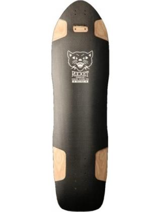 Rocket Longboards Domination Black - Deck Only