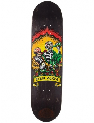 Santa Cruz Tom Asta Dine With Me Deck