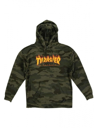 Thrasher Flame Camo