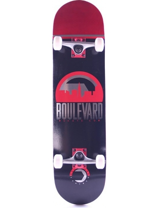 BOULEVARD traveler black/red 8.0