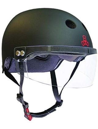Triple Eight Certified Sweatsaver x Visor