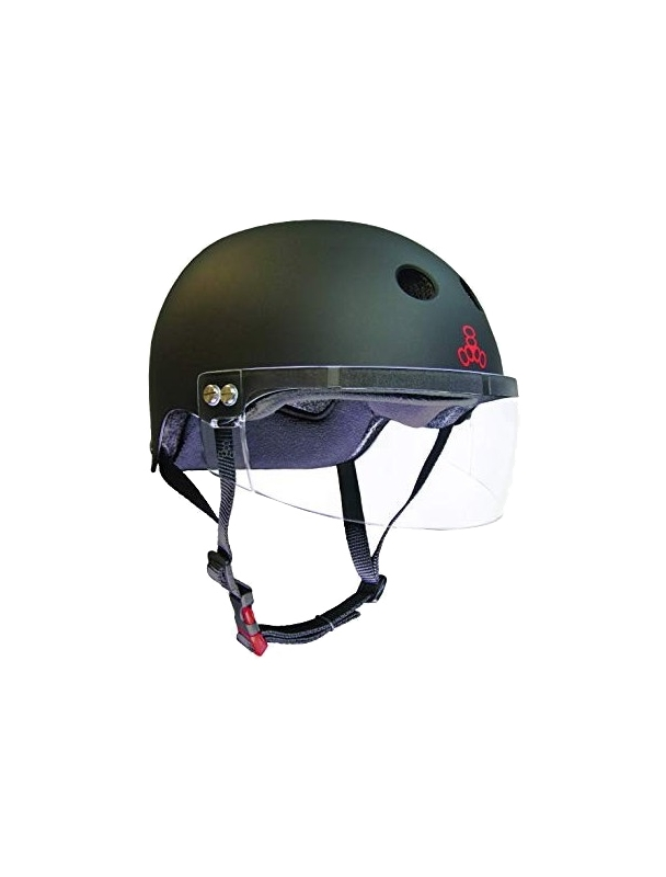 Helmet skateboard, longboard Triple Eight Certified Sweatsaver x Visor Cover Photo