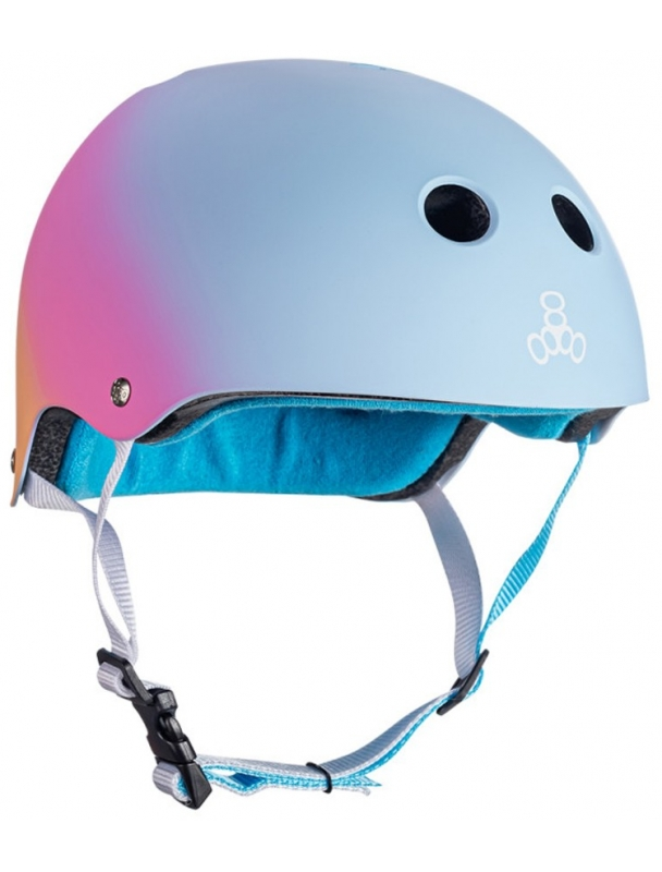 Helmet skateboard, longboard Triple Eight Certified Sweatsaver - Shaved Cover Photo