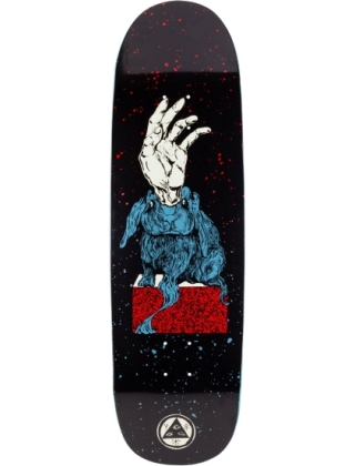 Magic Bunny on Boline - Black/Red/Blue - 9.25""