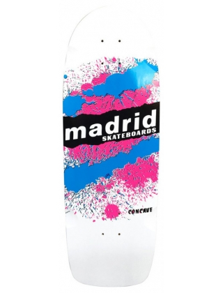 "Madrid Marty Explosion White 29"" - Deck-Only"