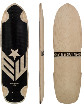 Earthwing Hoopty 34 Fiber Weave - Deck Only