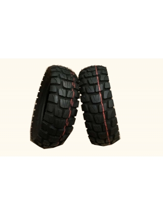 Electric scooter wheels PACK OF 2 FRONT AND REAR TIRES OFF ROAD FOR ZERO 10X Photo 1