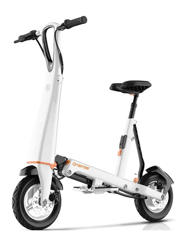 Electric bike Onemile Halo City - White Cover Photo