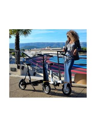 Electric bike Onemile Halo City - White Photo 8
