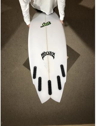 "Lost surfboard Lost ROUND NOSE FISH REDUX by Matt Biolos - 5'06"" x 19,50 x 2,35 x 28.5L Photo 3"