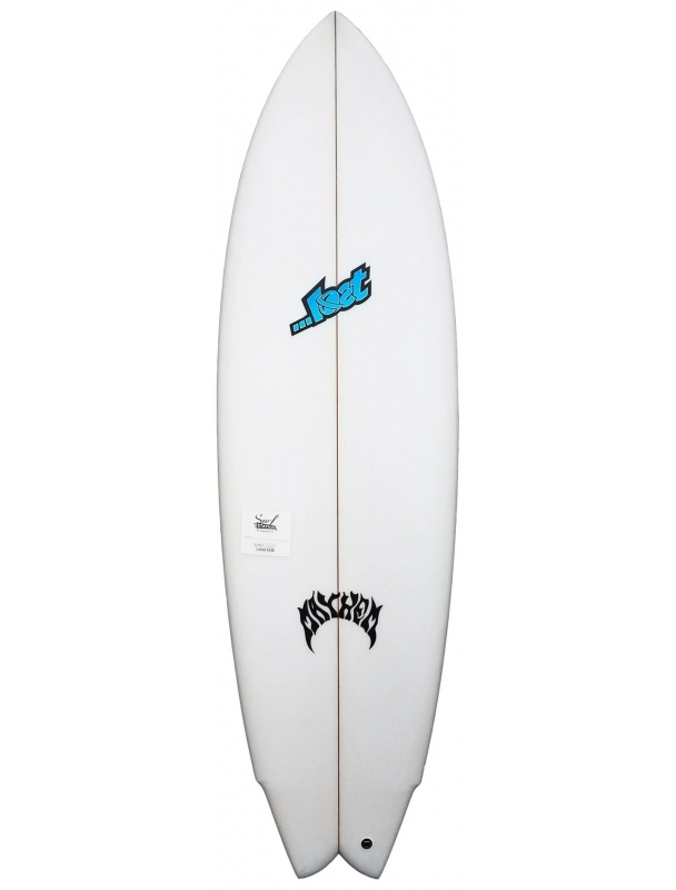 """Lost surfboard Lost ROUND NOSE FISH REDUX by Matt Biolos - 5'06"""" x 19,50 x 2,35 x 28.5L Cover Photo"""