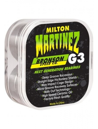 Bronson Speed Bearings  Milton Martinez Pro G3