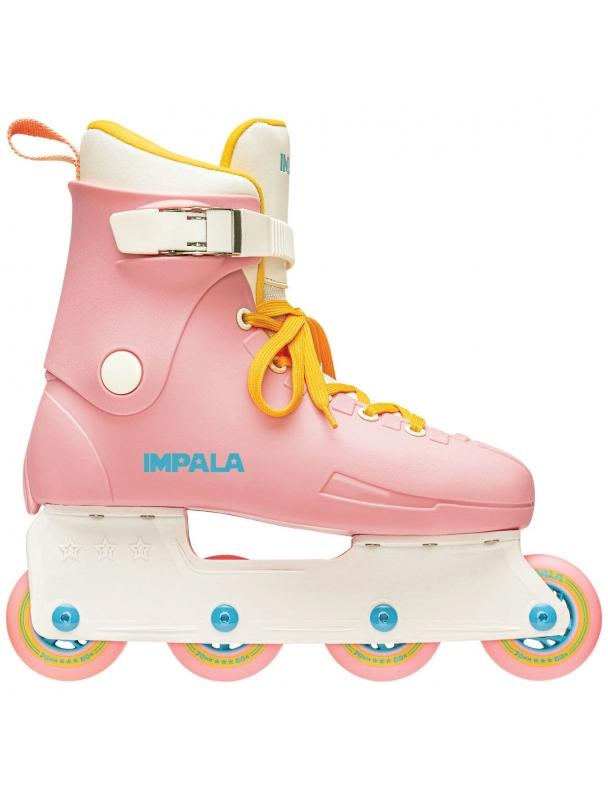 Rollers en ligne IMPALA LIGHTSPEED INLINE SKATE - PINK / YELLOW Cover Photo