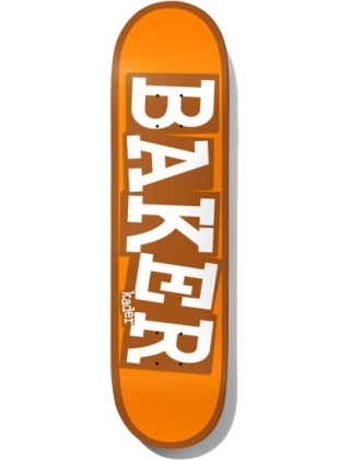 Baker Kader Ribbon Name Orange deck 8.125""