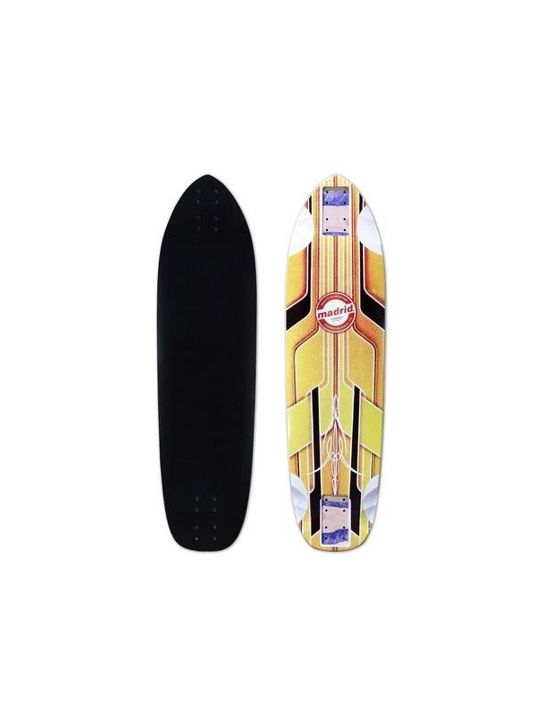 Longboard & cruiser deck Madrid Pro Series Dominant Max Dubler Gold - Deck Only Cover Photo