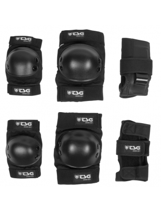 Protections for skateboard, longboard, rollers skates TSG Safety Pack Basic Set Photo 1