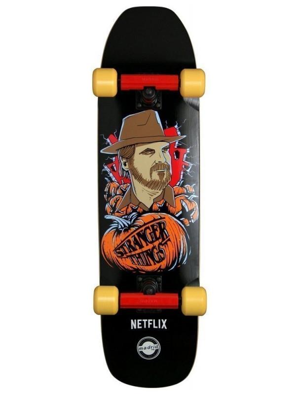 Cruiser Madrid X Stranger Things Hopper - Cruiser Skateboard Complete Cover Photo