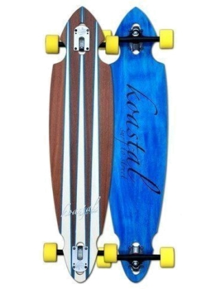 Koastal Blue Fin - Longboard Complete