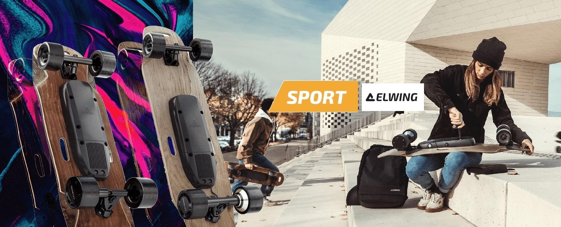 Skatebaord électrique Elwing Nimbus