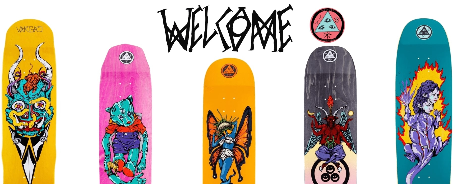 Skateboard Welcome Nieuwe collectie