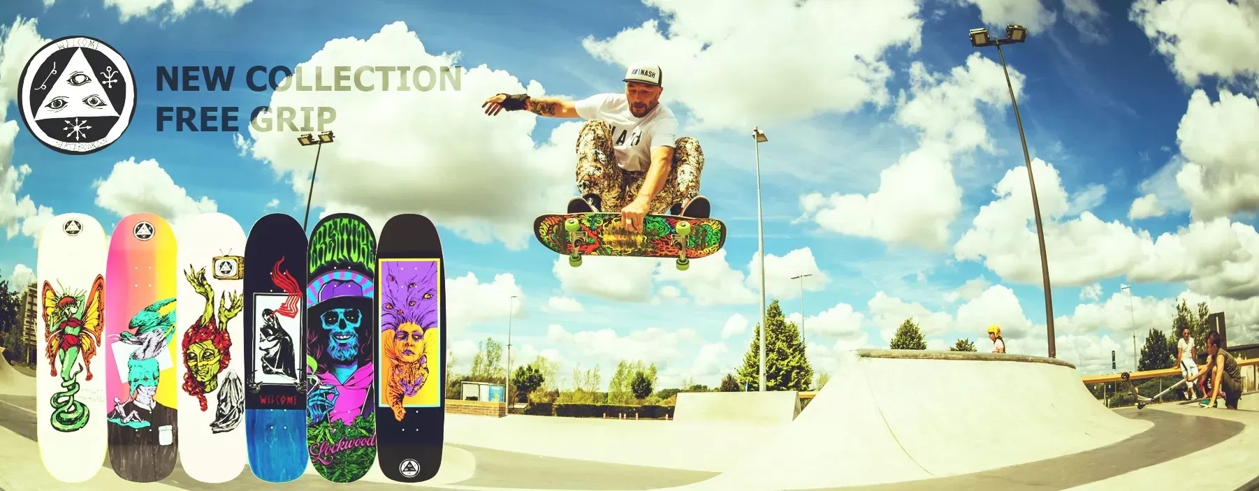 Skateboard New Collection